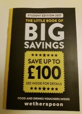 Wetherspoon Discount Vouchers - save up to £100 off Beer Wine spirits and food
