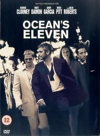 Ocean's Eleven (DVD, 2001) new and factory sealed