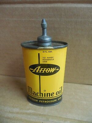 VINTAGE ARROW   Oil can.  101 Handy  household uses.  Chicago  3 fl. oz