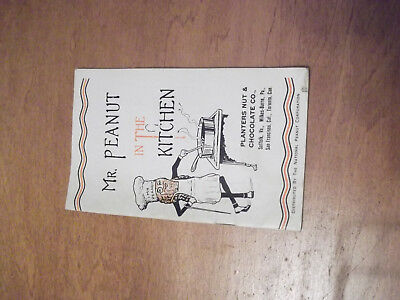 Planters-Mr Peanut In The Kitchen 1950S/60S 30 Page Recipe Book-Look!