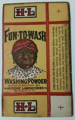 Buffalo, NY collectable◇ Fun-to-Wash washing powder made by Hygenic Laboratories