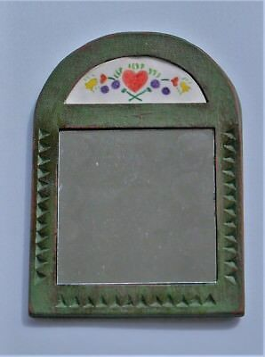 18th Century Style Hand Mirror, handmade, one of a kind