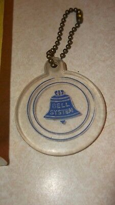 Vintage Bell System Key Chain/fob