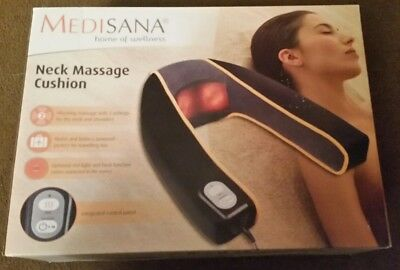Medisana neck massage cushion