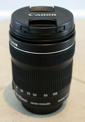 Canon EF-S 18-135mm f/3.5-5.6 IS STM Zoom Lens - Canon Refurbished - Warranty