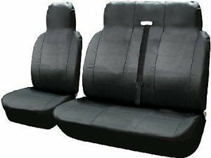 FORD TRANSIT DOUBLE MK8 - PREMIUM DELUXE RED PATCH VAN SEAT COVERS SINGLE