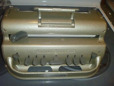 The Perkins Brailler Writing Device For The Blind $