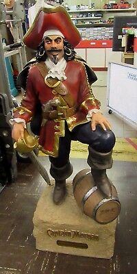 4ft Captain Morgan Statue Store Display Great Condition Local Pickup Dallas FW