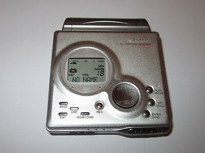 Sharp MD-MT80 Personal MiniDisc Player FULLY TESTED AND WORKING
