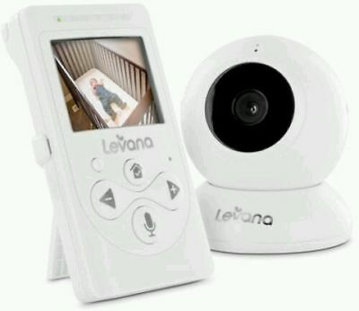 Levana Lila Digital Baby Video Monitor With Night Vision And Talk To Baby 32000
