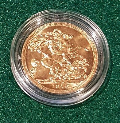 UK Gold Coin - Gold Sovereign - Encapsulated - 1976 - Y934