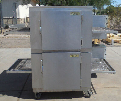 Pizza Ovens - Lincoln 1450 Natural Gas Doublestack - Free Ship/Call for Warranty
