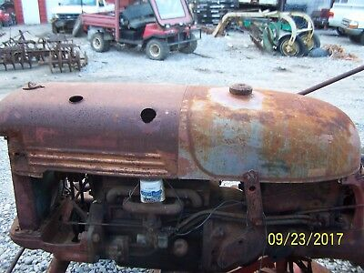International/Farmall Cub Tractor Hood,  And Tank Assm