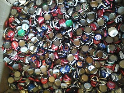 500 used recycled mix lot beer bottle caps (Free Shipping)