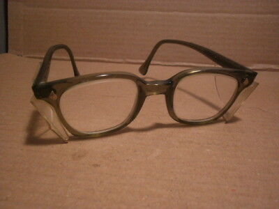 Vintage - AO American Optics Flexi-Fit SAFETY GLASSES - 6M Z87 w/side guards