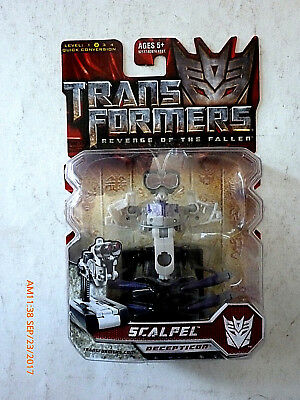 Transformers Revenge Of The Fallen Scalpel Action Figure! New!