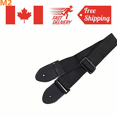Nylon Acoustic Folk Guitar Strap Adjustable Strap Bass Belt Guitar Strap