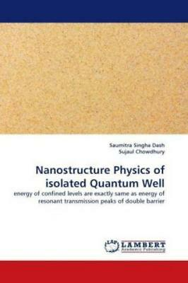 Nanostructure Physics of isolated Quantum Well energy of confined levels ar 1153