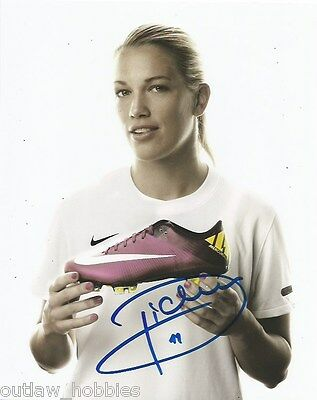 Switzerland Lara Dickenmann Autographed Signed 8x10 Photo COA