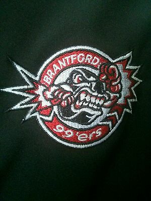 Brantford 99ers team issued / worn jacket GOJHL OHA
