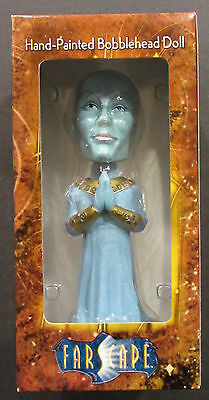 """FarScape Bobblehead, Zhaan, 7 1/4"""" ceramic Hand Painted - Numbered Ltd edition"""