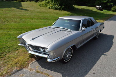 1964 Buick Riviera  1964 Silver Wildcat 465 Pristine Loaded Tinted Windows Great Driver