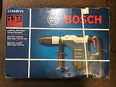 *NEW* Bosch 11264EVS 1-5/8-Inch SDS-Max Combination Rotary Break Hammer 13A