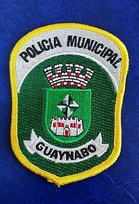 Guaynabo, Puerto Rico Policia Municipal Police (Small) Shoulder Patch
