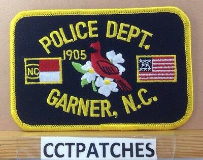Garner, North Carolina Police Shoulder Patch Nc
