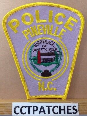 Pineville, North Carolina Police Shoulder Patch Nc