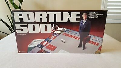 FORTUNE 500 The Business Game 1980 Pressman New in Shrink!