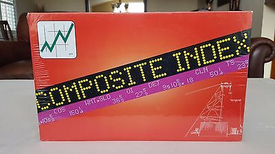 Rare COMPOSITE INDEX Stock Trading Board Game New!