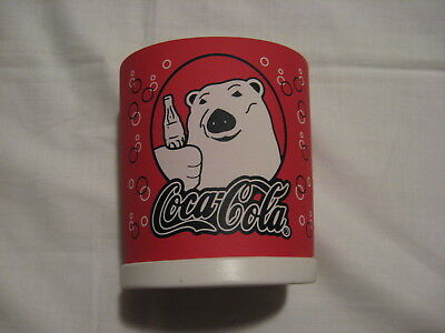 Old School 1999 Coca Cola Polar Bear Soda Can Soft Koozie