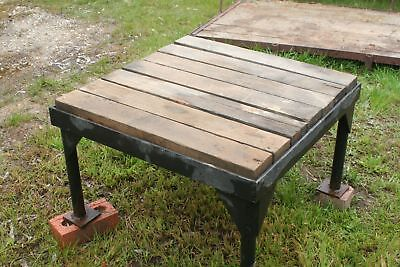 Heavy Duty Stand - Steel Base With Hardwood Top - Suit Water Tank, Workshop etc.