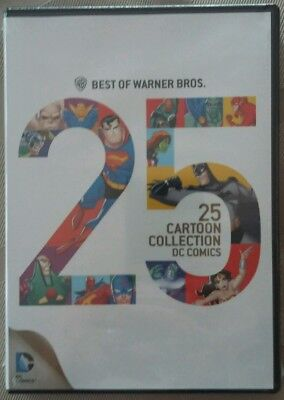 Best of Warner Bros 25 Cartoon CollECTION  DC Comics (DVD, 2Disc) NEW  SHIP FREE