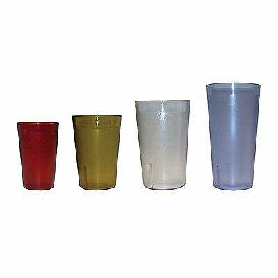 16 Oz. Stackable Tumbler (Set of 6) Finish: Clear