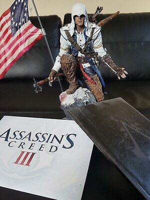assassins creed 3 connor statue