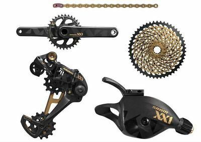 New 2017 SRAM XX1 Eagle 1x12 speed Groupset 10/50 175mm Crank GXP, 32T.