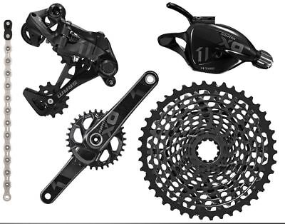 New 2016 SRAM X01 Groupset 1x11 speed 10/42 175mm Crank BB30, 32T