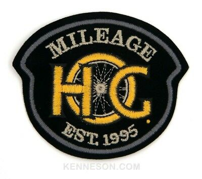 Harley Davidson Motorcycles Harley Owners Group HOG Mileage EST. 1995 Patch