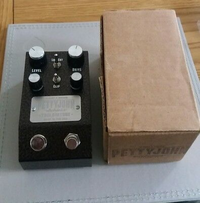 PettyJohn Chime preamp/overdrive-pedal