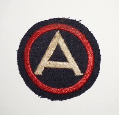 3rd Army German Theater Made Patch WWII US Army P4969