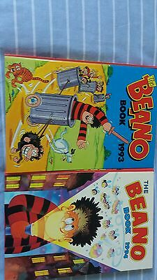 The Beano 1993 to 1996 Annual.