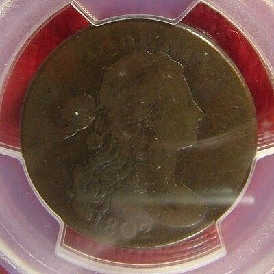 1802 1/000 Large Cent PCGS VG 08 Cert# 28212327