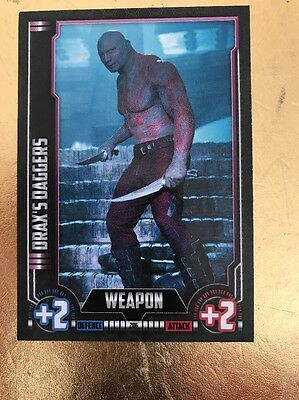 Hero Attax 2016-Marvel Cinematic Universe #206 Draxs Daggers