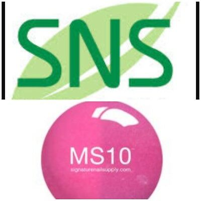 SNS #MS10 Mood Changing Signature Nail Systems Dip Colour NEW & PREBONDED AUS