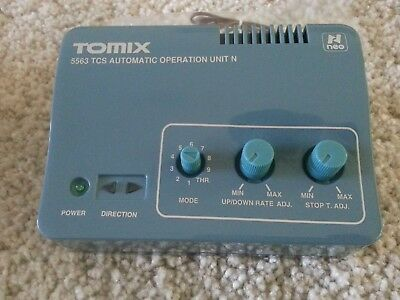 TOMIX 5563 TCS Automatic Operational Unit N (N scale) VERY GOOD CONDITION