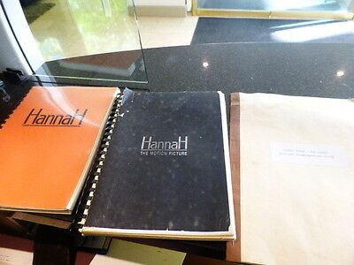 Hannah original movie screenplay Scripts  Melbourne MPR production Budget