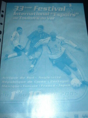2005 Toulon tournament incl England Japan South Africa Korea Mexico France