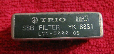 Kenwood 2.7 KHz SSB crystal filter YK-88S1 made by HRO, solder type